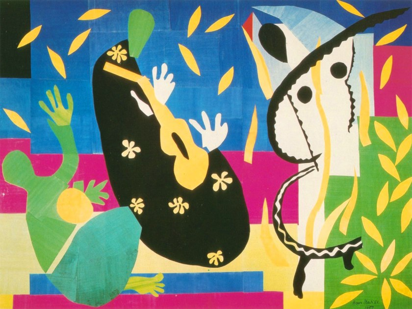 Tristezza-Tristezza-del-re-Sorrow-of-the-king-Matisse-1952