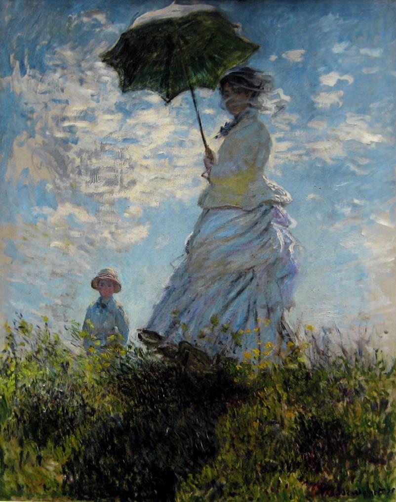 la-passeggiata-donna-con-parasole-monet-analisi