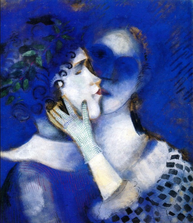 Blue-Lovers-Chagall-1914
