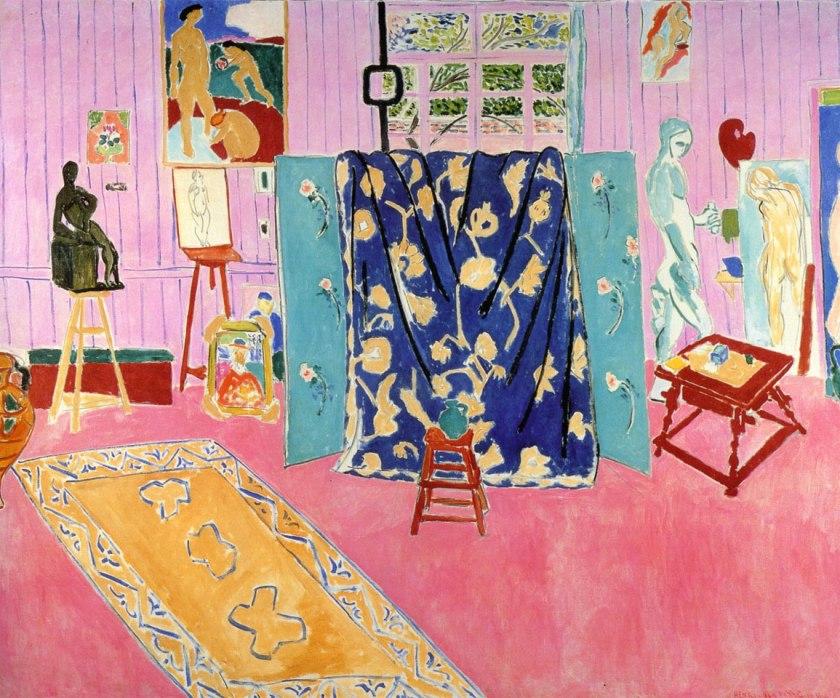 Lo-studio-rosa-Henri-Matisse-The-Pink-Studio-1911